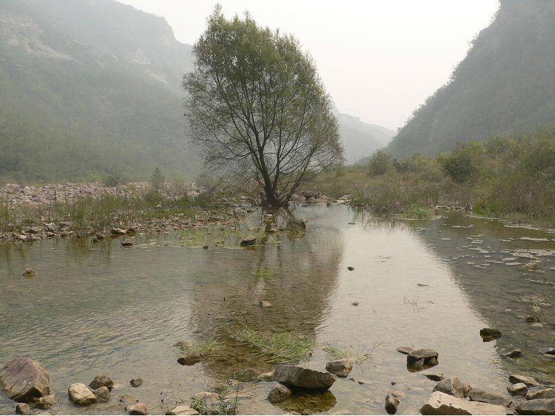 云台山景区之一红石峡
